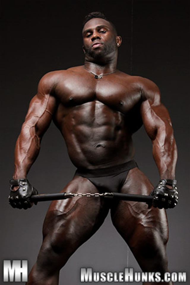 Your Hot black muscle men