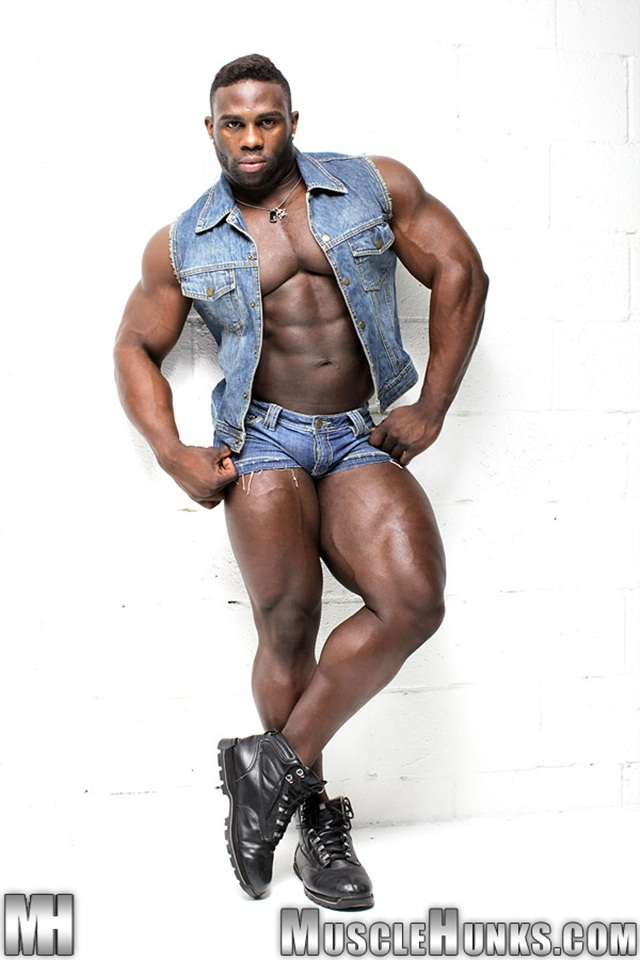 Hot sexy nude black gay men