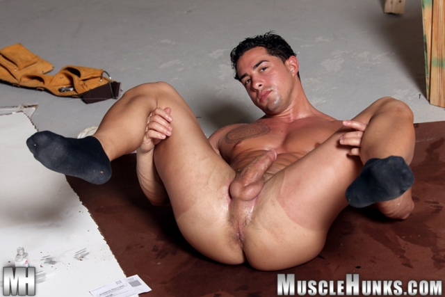 muscle men 2 muscle hunks  Mark Monty