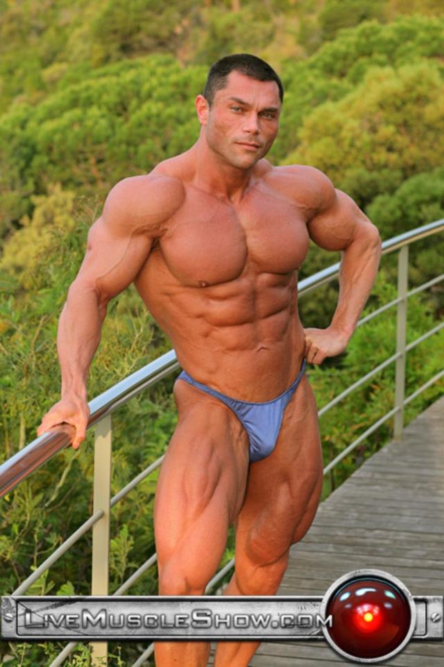 Big muscle men sex