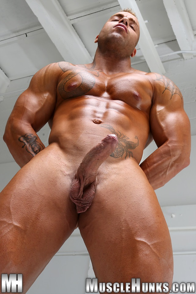 Muscle nude men porn something is