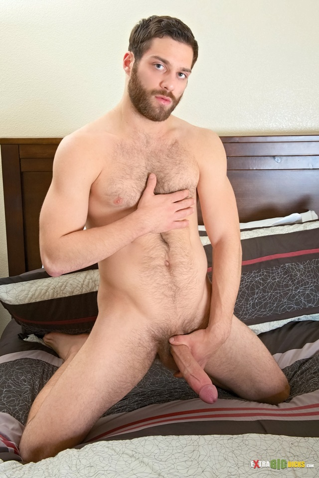 Naked men with hairy dicks sex video