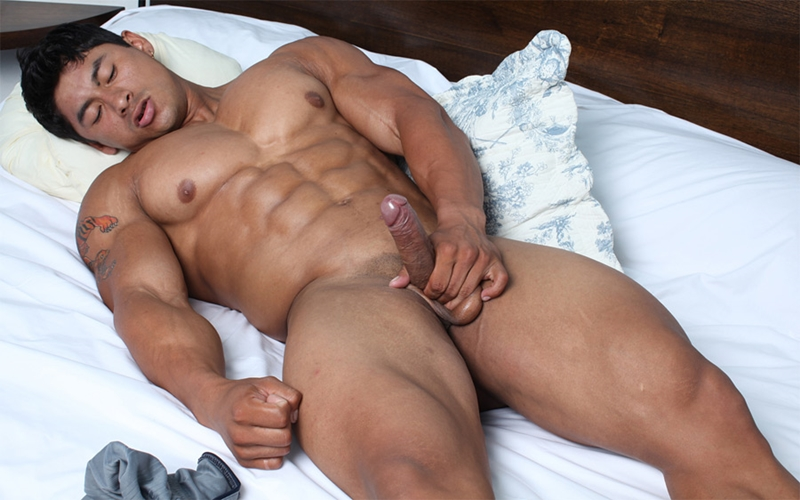 Hot asian muscle porn — photo 3