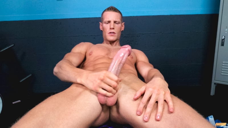NextDoorMale Jordan James fingers shaft massaging balls smacks ass bench spreading legs massive cock jerking huge penis loses his load 013 tube download torrent gallery photo Jordan James