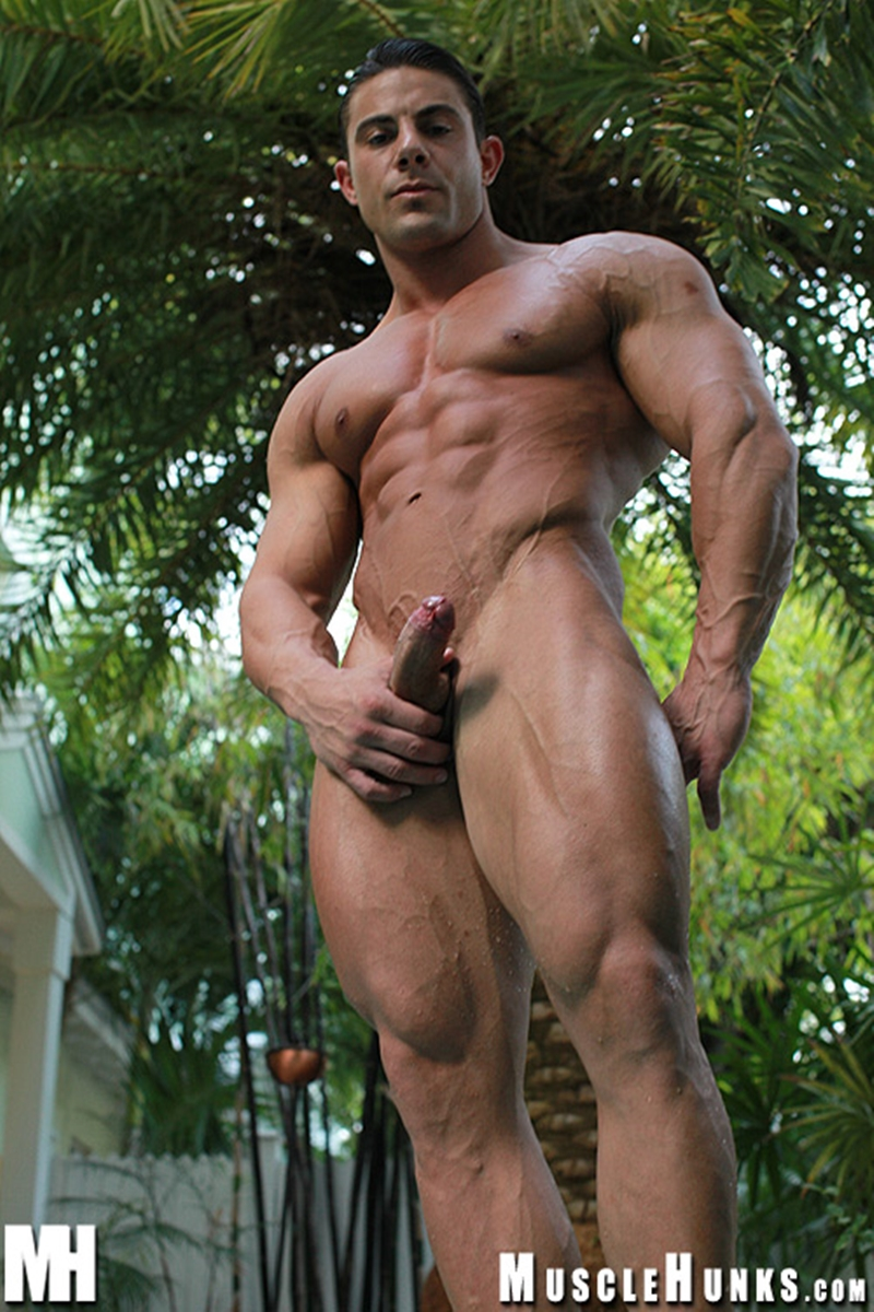 More Young hunk with six pack abs