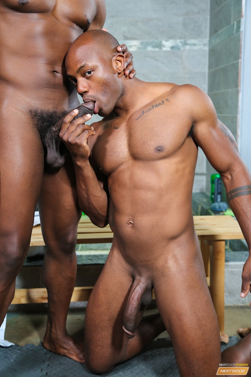 Krave Moore And Osiris Blade Rub Their Throbbing Big Black -1127