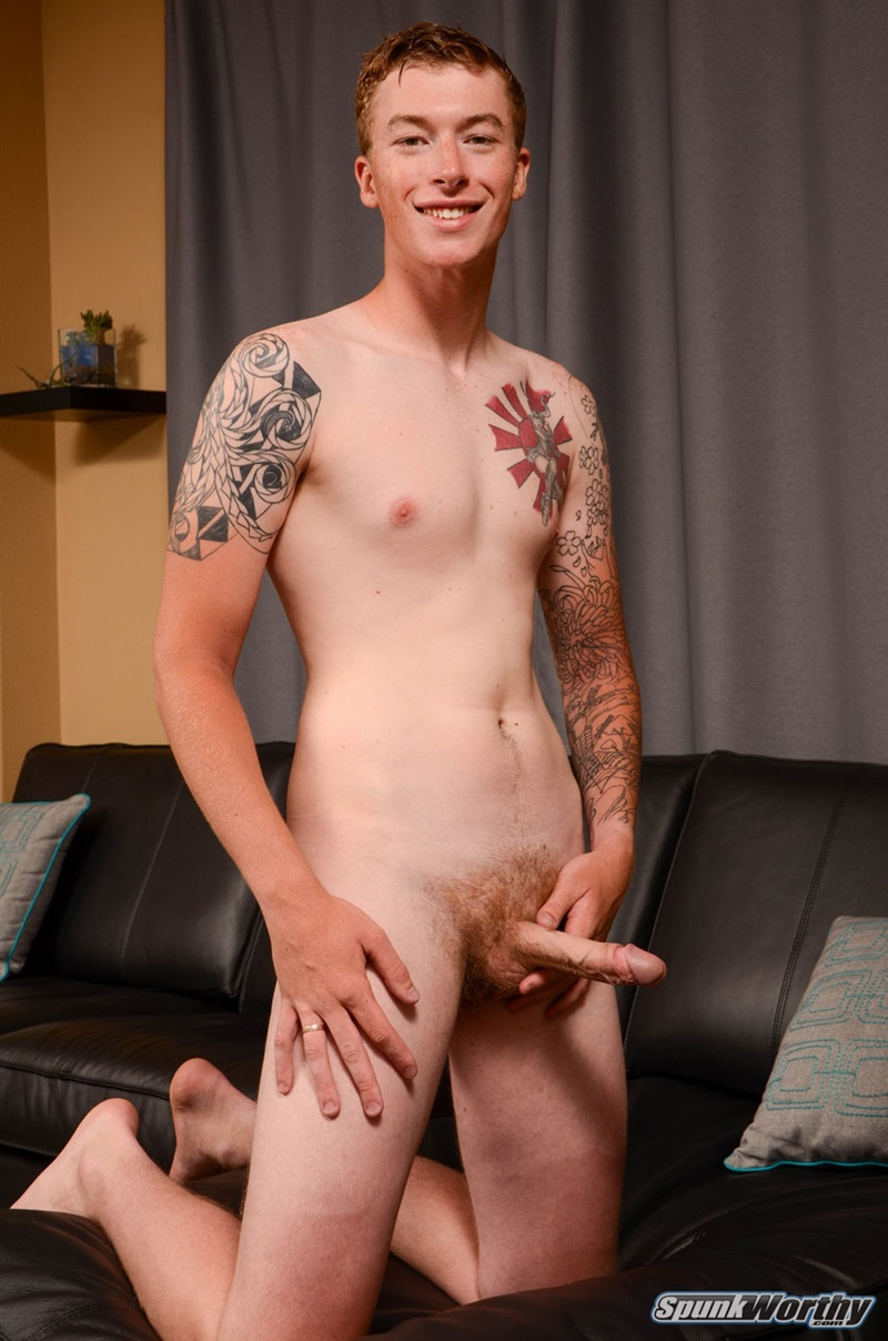 Ginger Pubes Graham Jerks His Huge Uncut Cock To A Big -6036