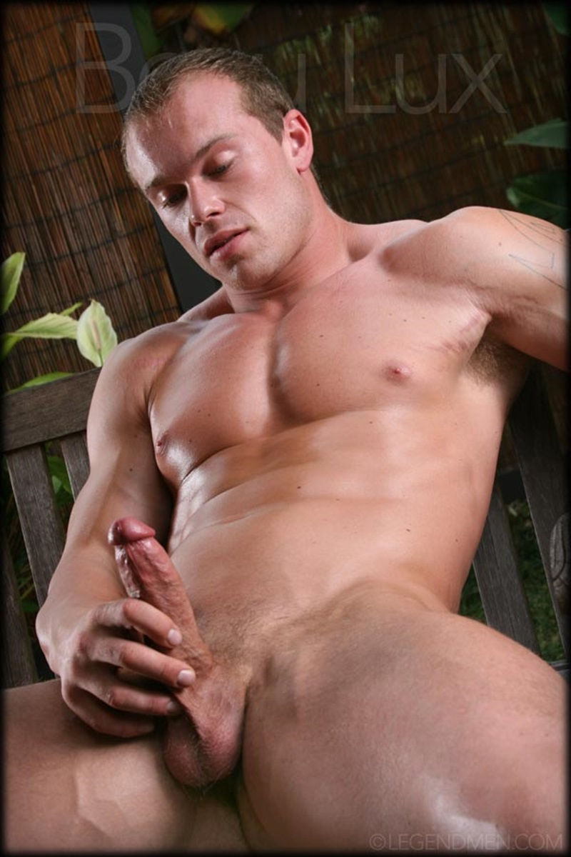Naked Muscled Hunk Beau Lux Legend Mens Newest -8785