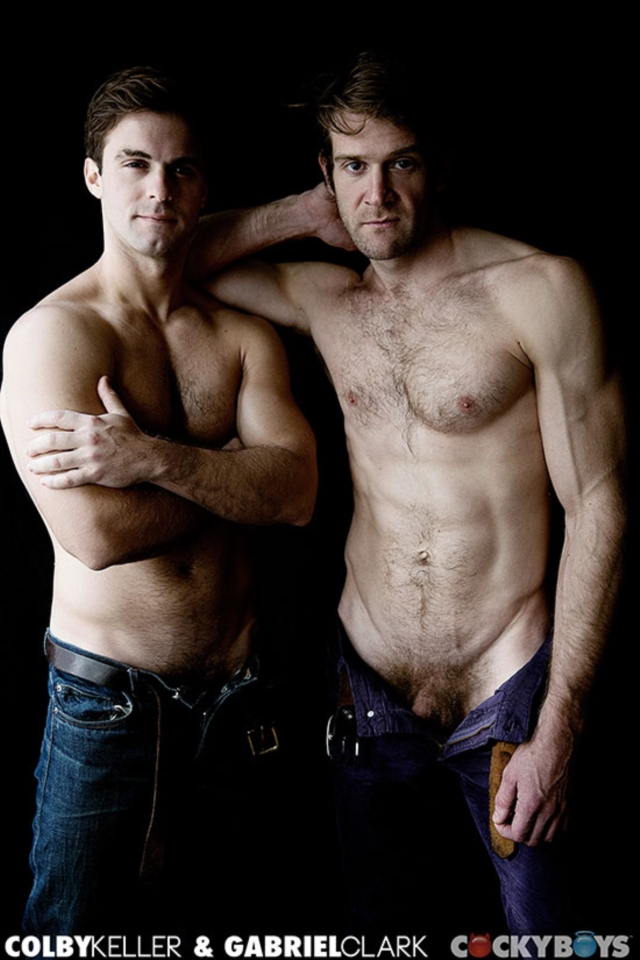 Colby Keller and Gabriel Clark