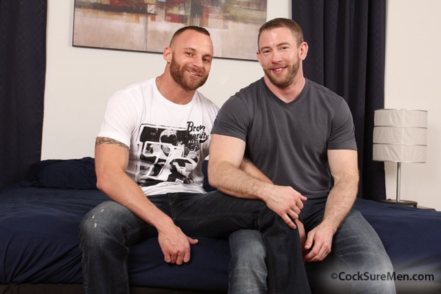 Derek Parker and Shay Michaels
