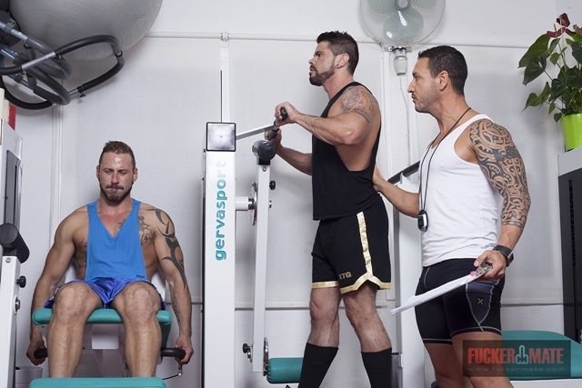 Alejandro Dumas, Antonio Miracle and Mario Domenech
