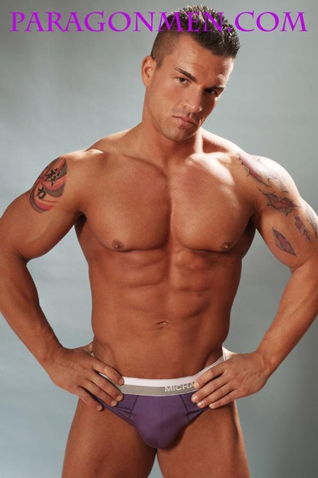 Muscled sex bodybuilder Braden Charron