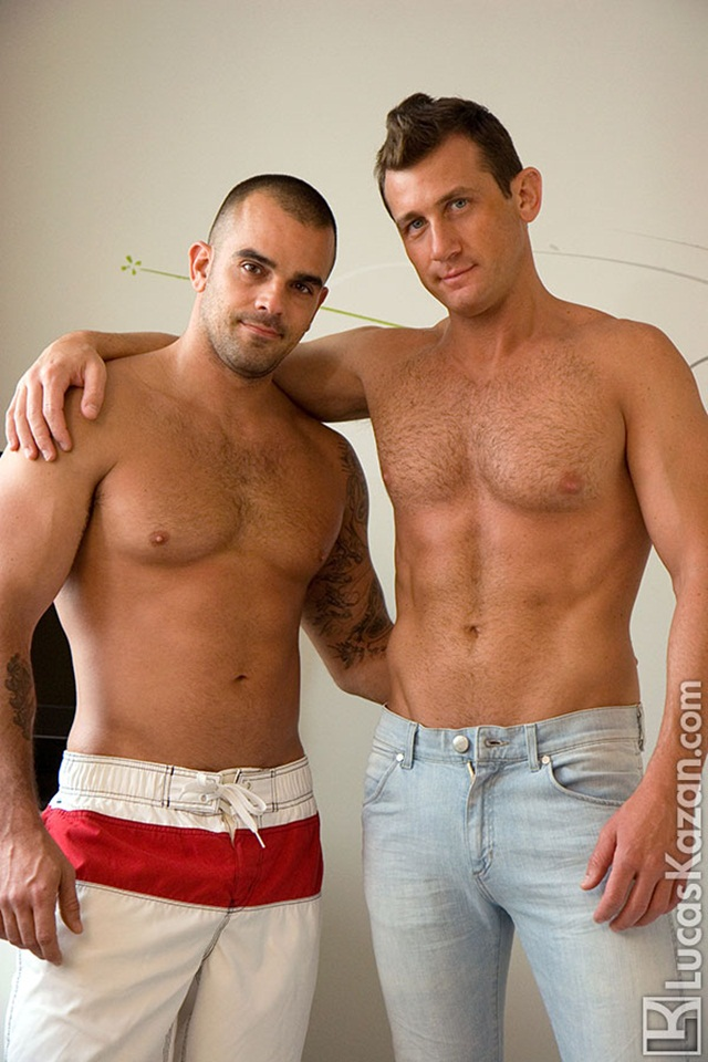 Italian superstar Ettore Tosi and Damien Crosse