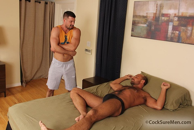 Jake Deckard and Kyle King at Cocksure Men