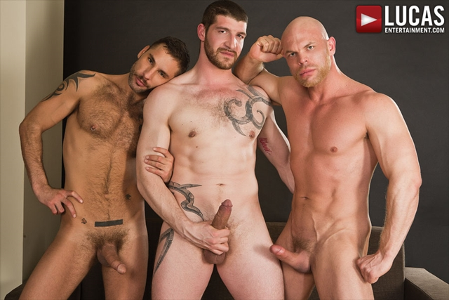 Jonathan Agassi and Jeff Stronger and Marco Milan