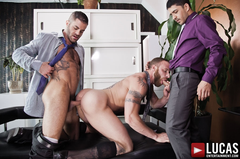 Derek Parker, Marcus Isaacs and BJ Rhubarb