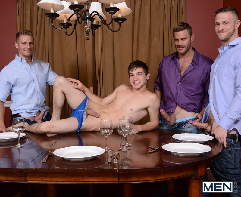 Johnny Rapid, Landon Conrad, Logan Vaughn and Paul Wagner