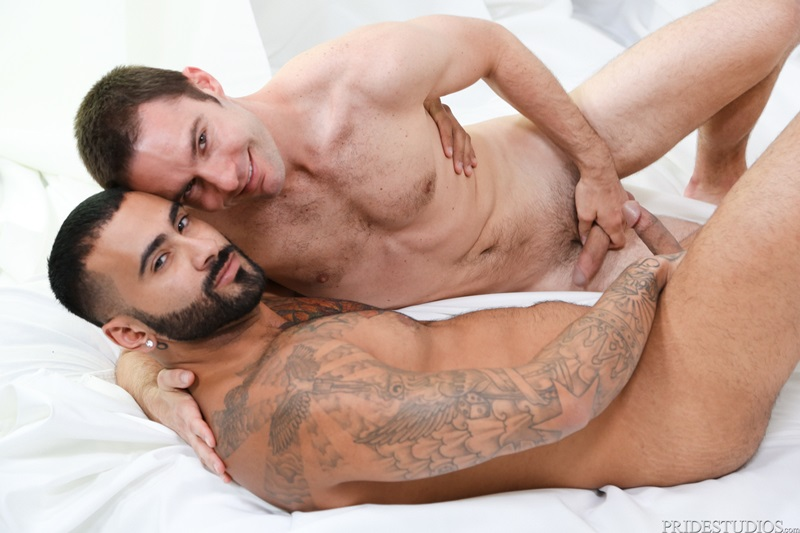Cameron Kincade eats and fucks Rikk York's ass slowly and intensely