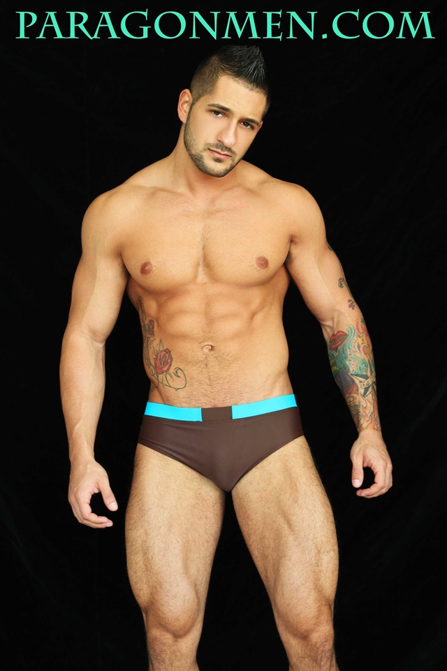 Paragon Men – Eddie Cambio we're talking juicy lips and a round, banging, spank-able bottom
