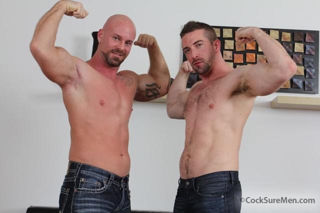 Scott Hunter and Mitch Vaughn