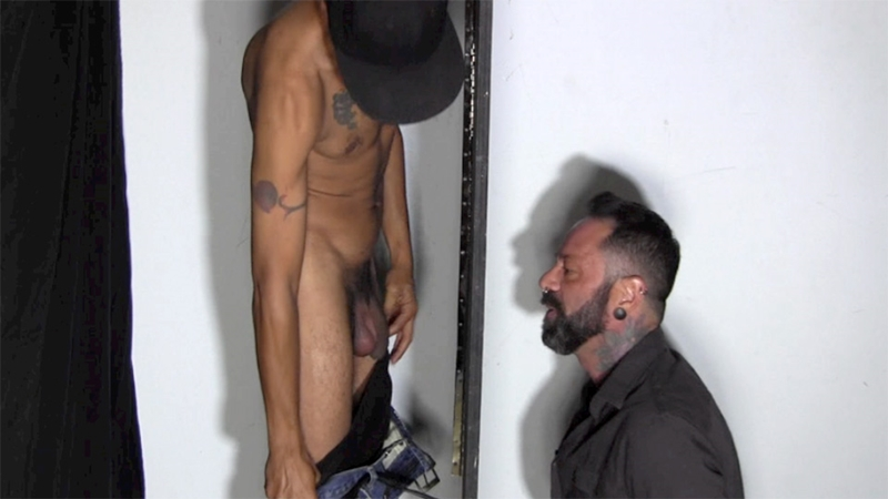 Max at the Gloryhole