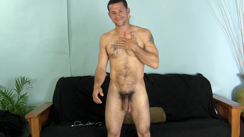 Straight stud Franco gives Victor his first taste of cock first taste of pre-cum