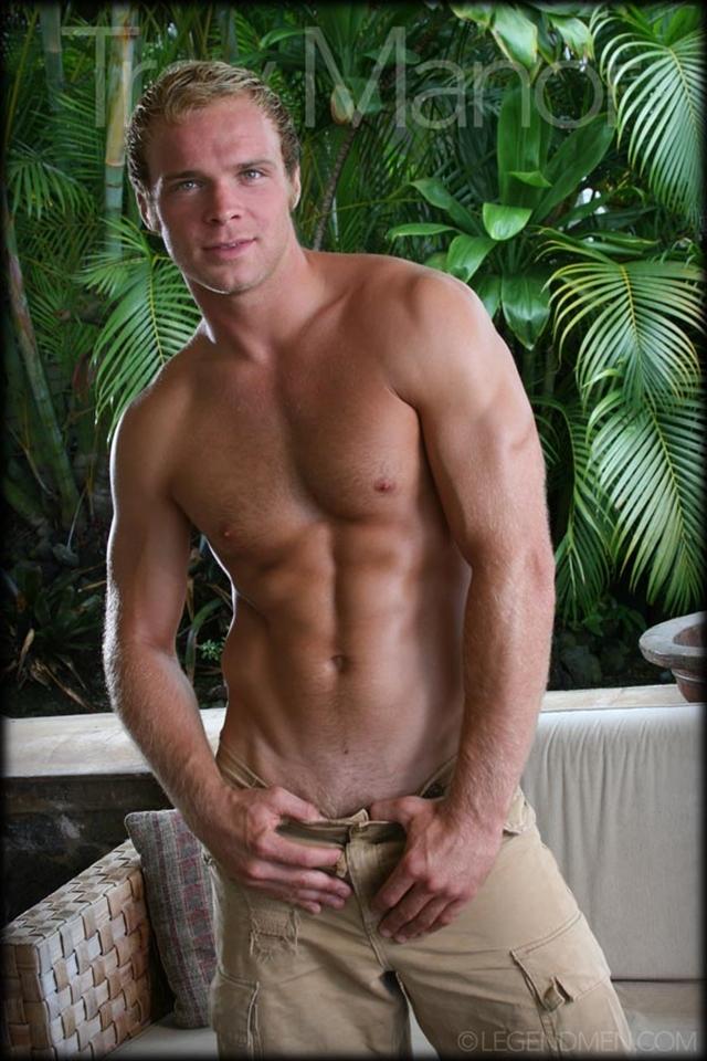 White muscled men naked