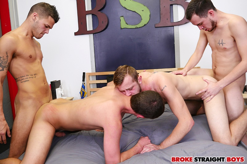 Four sexy studs Gage Owens, Tyler Griffin, Chandler Scott and David Hardy