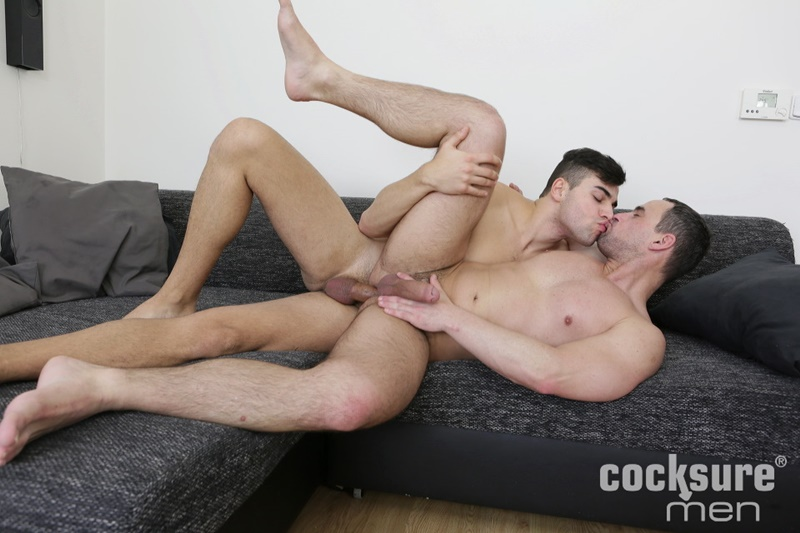 Joel Vargas bareback ass fucking Andy West's tight young asshole