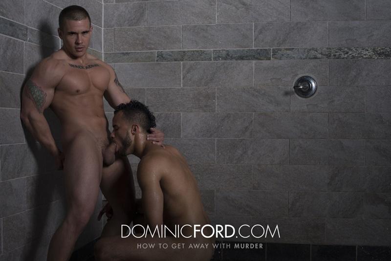 Adam Bryant fucks the cum out of Javier Cruz's tight asshole
