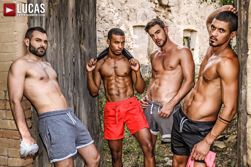 Rough double penetration Zander Craze, Jacen Zhu, Wolf Rayet and Ibrahim Moreno
