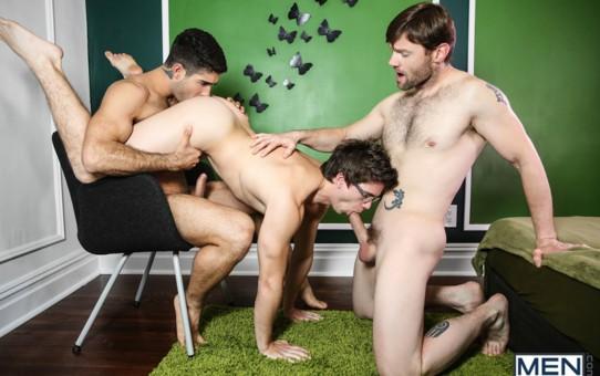 Hardcore ass fucking orgy Diego Sans, Dennis West and Will Braun