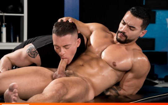 Arad Winwin takes control dominating Rex Cameron's ass with every pump deeper
