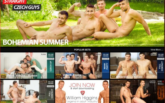 Gay porn site William Higgins wins 5 stars review