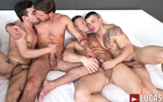 Tomas Brand, Fernando Torres, Toby Dutch, Alejandro Alvarez and Josh Milk