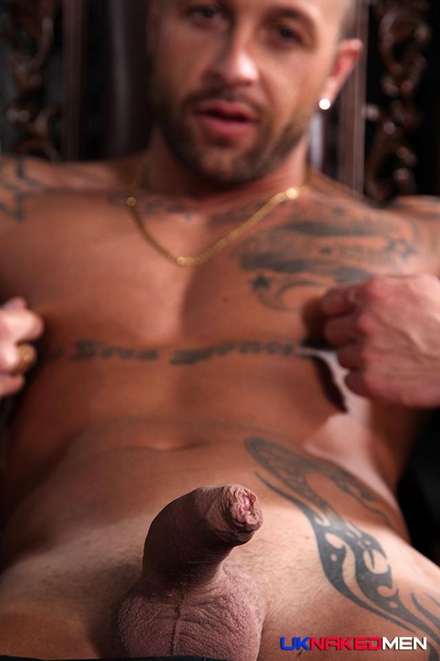 uk naked men  Frank Valencia and Aaron Steel