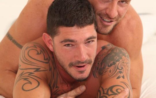 Butch Dixon: Johnny Hazzard, Aitor Crash and Gio Cruz, gaol bait threesome!