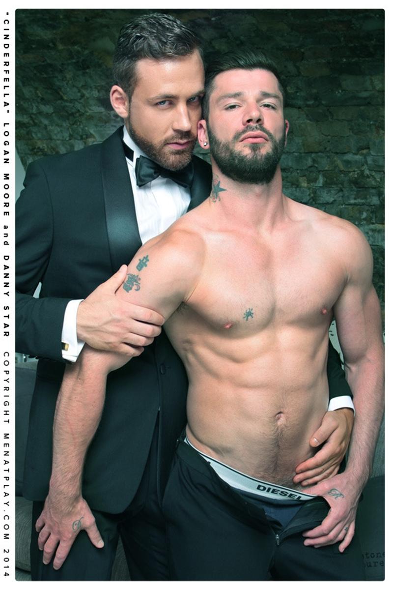 muscle men 2 men at play  Logan Moore and Danny Star