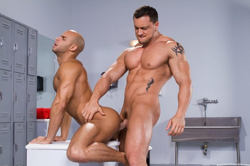 RagingStallion-sexy-naked-muscle-hunk-Sean-Zevran-locker-room-beefy-stud-Joey-D-football-player-deep-throat-swollen-big-thick-long-cock-anal-rim-001-gay-porn-sex-gallery-pics-video-photo