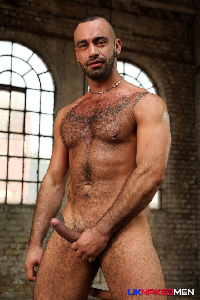 uk naked men  Tony Thorn and Fabio Lopez