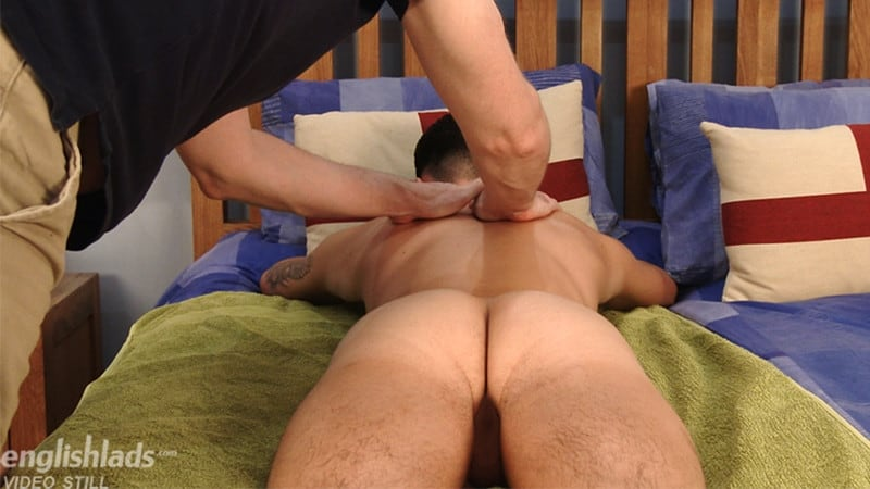 Men for Men Blog Gay-Porn-Pics-011-Dominic-Moore-jerk-off-Marco-Braid-uncut-cock-foreskin-blows-cum-load-Men Dominic Moore manhandles Marco Braid's big uncut cock playing with his foreskin till he blows his load English Lads